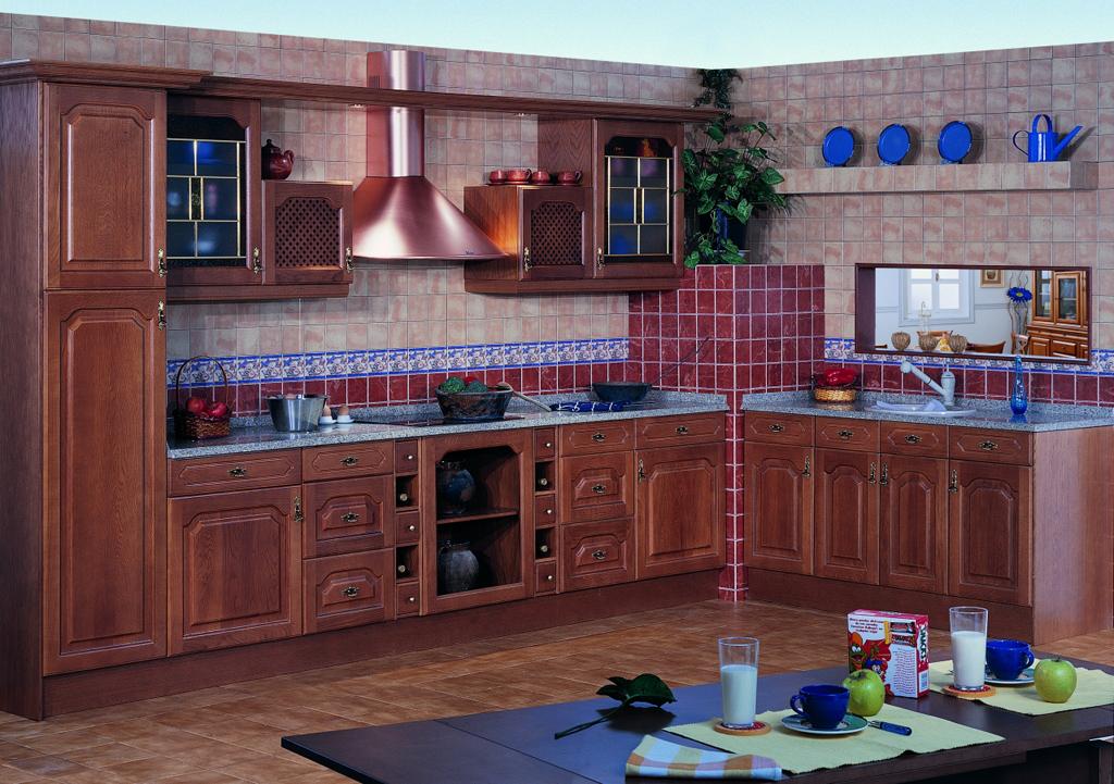 Roblecn s l cocinas for Modelos de cocinas en l